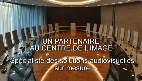 Videoline specialiste des solutions audiovisuelles sur mesure