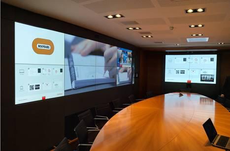 Salle de réunion équipée par Videoline