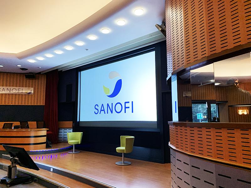 Auditorium Sanofi France du campus Croix de Berny